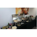orçamento de buffet de almoço para empresa Jardim Sul-América