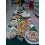 orçamento de buffet de café da manhã em empresa Jardim Nogueira