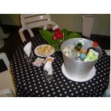 orçamento de buffet de coquetel para casamento Santa Emília