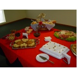 orçamento de buffet de coquetel para evento Jardim Mirassol