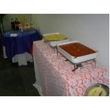 orçamento de buffet para almoço de confraternização Traviú