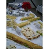 orçamento de buffet para café da tarde Santa Emília