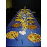 orçamento de buffet para happy hour de empresa Vila Real