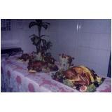 preço de almoço de natal corporativo Vila Janete