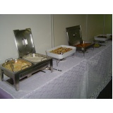 preço de almoço para reuniões Parque Gabriel