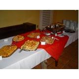 preço de buffet de brunch para evento Jardim São Franscisco