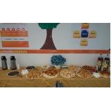 preço de buffet de café da manhã para evento Jardim Tannus