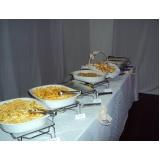 preço de buffet de coquetel para casamento Riqueza