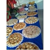 preço de buffet para confraternização de empresa Vila Marlene
