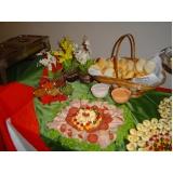 preço de buffet para happy hour de empresa Res. Jardim Florencia