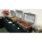 quanto custa almoço para eventos empresariais Parque Terra Nova