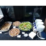 quanto custa almoço personalizado para empresa Chácara Paraíso
