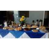 quanto custa café da manhã para confraternização Parque Centenário