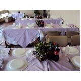 serviço de almoço executivo para empresas Vila Janete