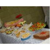 serviço de buffet coffee break Jardim Girassol