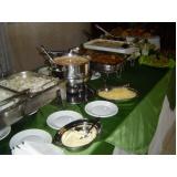 serviço de buffet de almoço para empresa Jardim Santo Andre