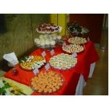 serviço de buffet para coquetel empresarial Cristais