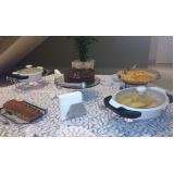 serviço de buffet para evento executivo Lenheiro