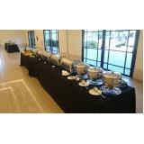 serviço de buffet para evento social Jardim Girassol