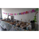 serviço de buffet para festa empresarial Cristais