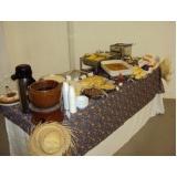 serviço de café da manhã para palestras Vila Militar
