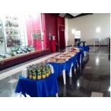 serviço de coffee break para eventos outubro rosa Jardim José Martins